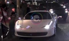 Justin Bieber Hits and Injures a Paparazzo in His Ferrari 458 [Video]