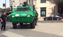 this is how the german police rolls when protecting barack obama [video]