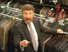men's wearhouse founder george zimmer is the steve jobs of fashion