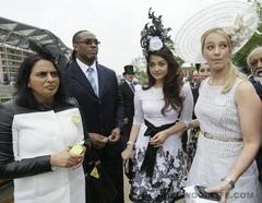 aishwarya rai bachchan's style at the royal ascot: very high-class!