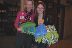 Girl Scout Receives Award for Comforting Chemotherapy Patients