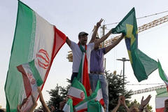 'Brazil here we come,' Millions of Iran fans sing