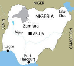 Armed gang kills 48 in raid in Nigeria