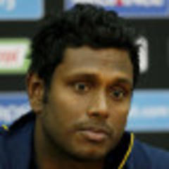 Mathews vows fight against India