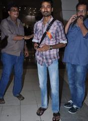 Dhansush and Sonam return from Chennai