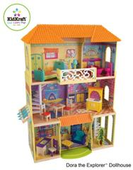 Nickelodeon and KidKraft Introduce Lifelike Designer Wooden Toys, Doll Furniture and Accessories Featuring Dora the Explorer
